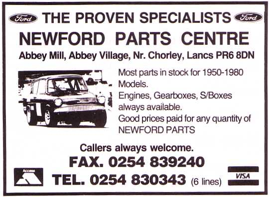 Newford Parts Centre
