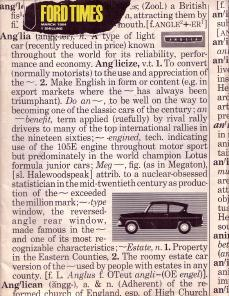 Ford Times 1964