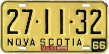 1968 Plate