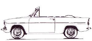 Typical Anglia Convertible
