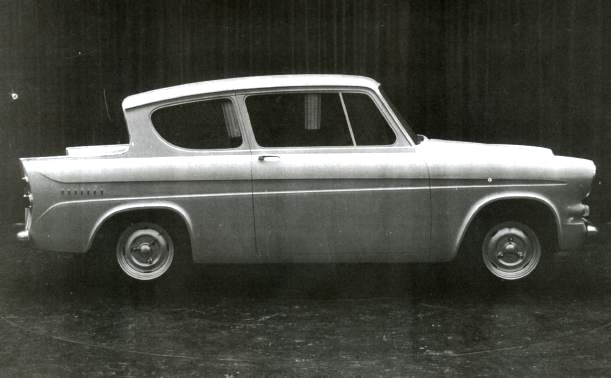 Ford Anglia Prototype - Side View