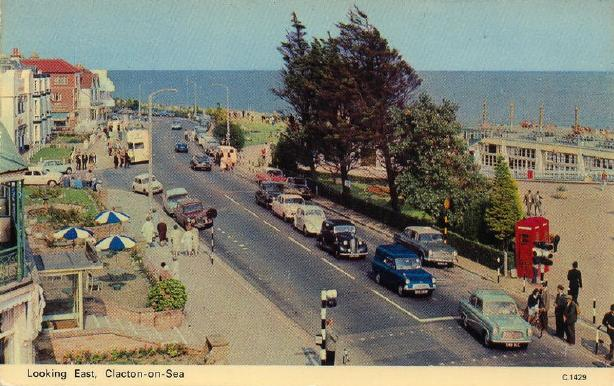 Ford Anglia Van at Clacton on Sea