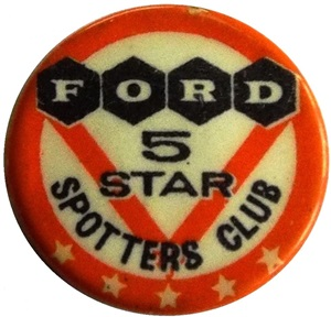 5 Star Spotters Badge