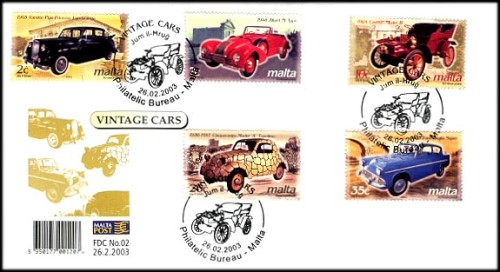 Anglia Stamp Set