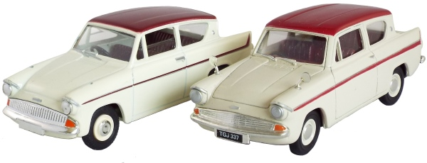 Resin Ford Anglia Saloon