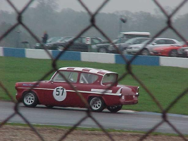Ford Anglia - HSCC Donington Park