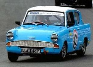 Ford Anglia - Christopher Parkes