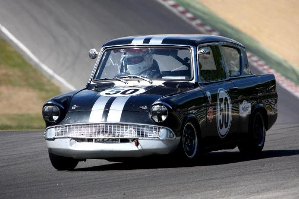 Ford Anglia - HSCC Brands Hatch 2010