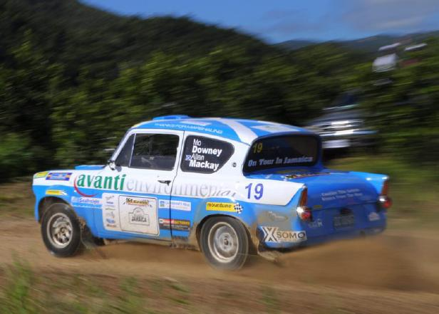 Ford Anglia - Jamaica Rally