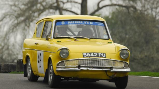 Ford Anglia - Alan Healy Memorial Rally