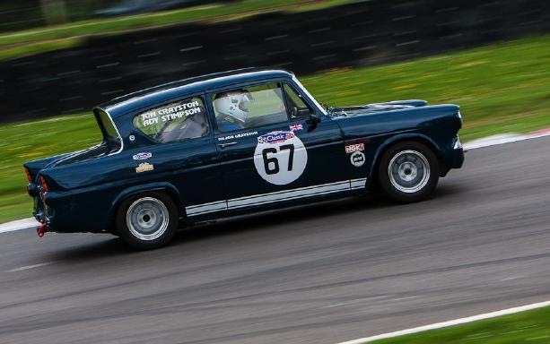Ford Anglia - Brands Hatch 2012