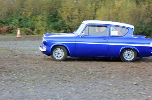 Ford Anglia - Autumn Lanes Rally