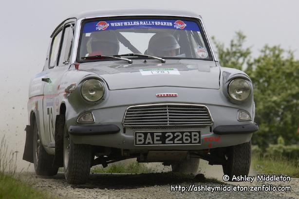 Ford Anglia - Severn Valley Rally