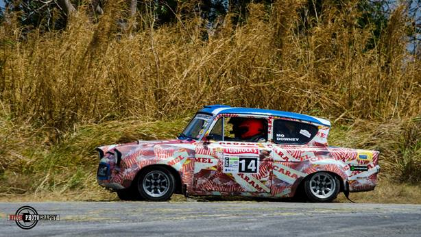 Ford Anglia - King of the Hill Rally