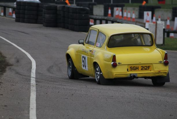 Ford Anglia - Snetterton Stages Rally