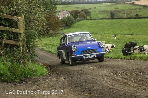 Ford Anglia - Equinox Targa Rally