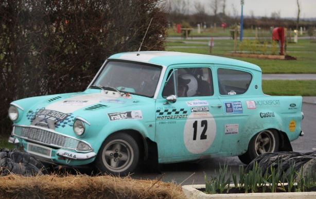 Ford Anglia - Rally 2018