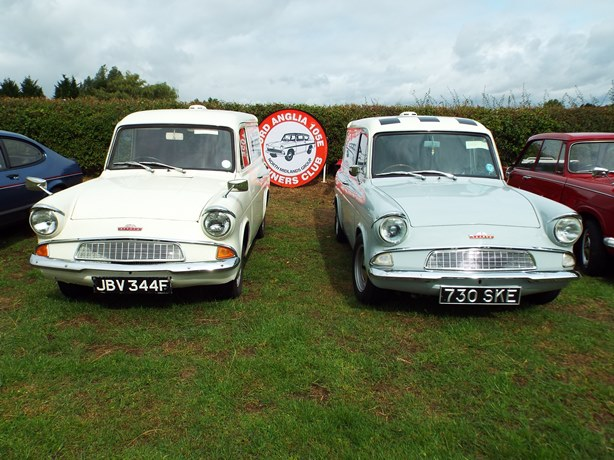 Ford Anglia Stand