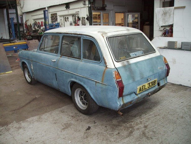 Ford Anglia estate - Russian Roulette