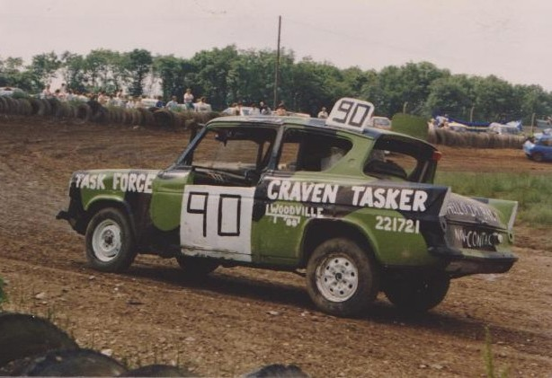 Ford Anglia - Trent Raceway