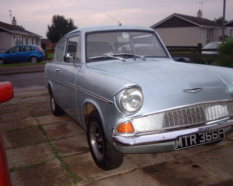 Graham's Anglia - Front
