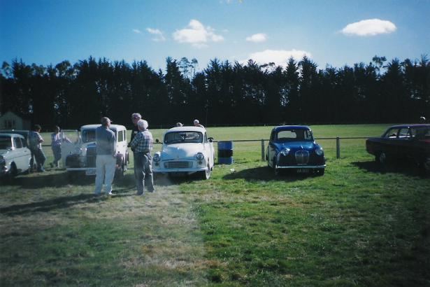 Graham's Anglia - Outing 1