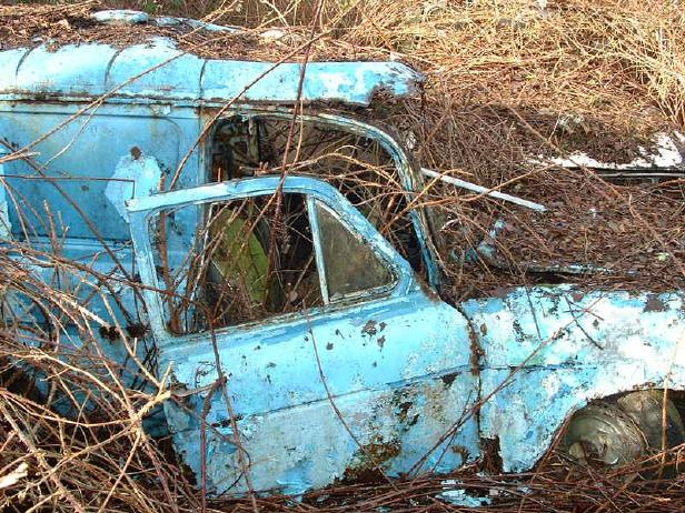Ford Anglia Wreck 1