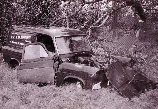 Ford Anglia Wreck 2