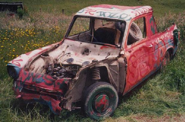 Ford Anglia Wreck 3