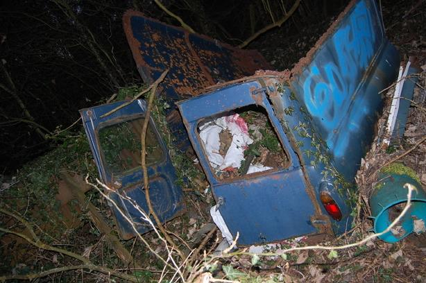 Ford Anglia Wreck 7