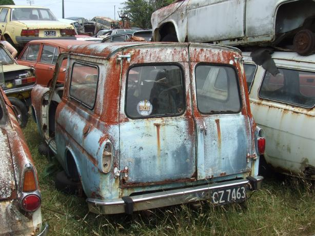 Ford Anglia Wreck 8