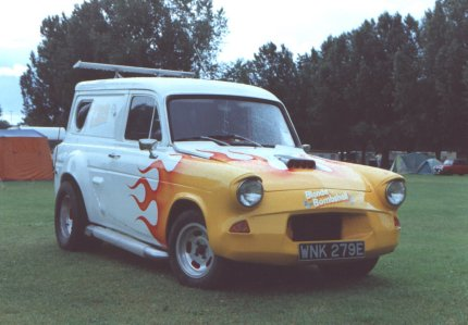 Ford Anglia - Blonde Bombshell