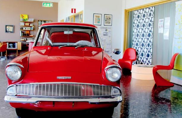1961 Ford Anglia attraction